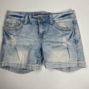 Hydraulic Cuffed Low Rise Womens Shorts Size 9 10